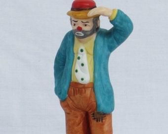 Emmett Kelly Jr Signed Figurine by Flambro