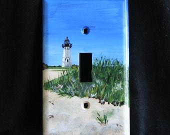 Lighthouse Light Switch Plate