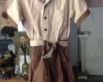 Kaynee Oliver Twist 1940's Romper