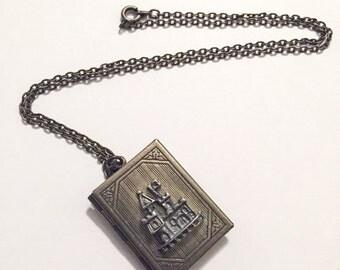 Castle Princess locket necklace