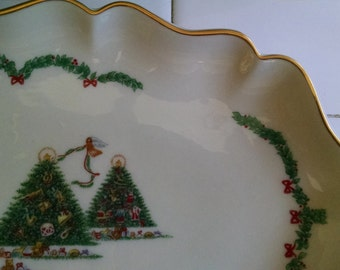 Lenox Christmas Candy and Condiment  Tray