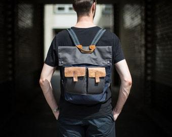 Backpack, Mens Backpack, laptop bag, For Him