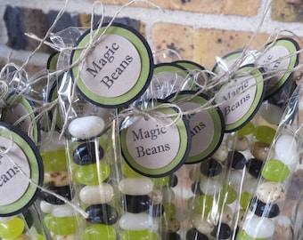 20 Jack and the Beanstalk Party Favors, Magic Beans Jack and the Beanstalk, Jack and the Beanstalk Birthday Party Favors, Magic Beans