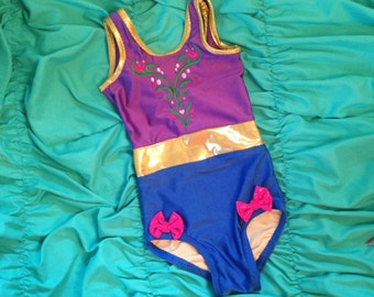 Snow Princess Leotard, gymnastics, dance, ballet, leo