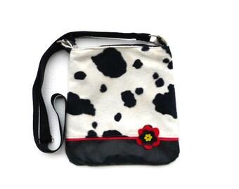 Shoulder bag  crossbody bag messenger bag travel bag  caw