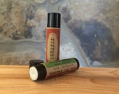 Buttery Caramel All-Natural Beeswax Lip Balm. Local Beeswax from the Beekeeper. Organic Shea & Cocoa Butters.
