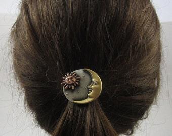 Celestial Ponytail Holder-Celestial-Sun Moon Stars- Ponytail Holder- Hair Accessories