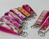 Hot Pink key fobs