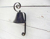 Vintage Iron Porch or General Store Bell Barn Find