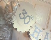 30th Anniversary Party Decorations Personalization Available