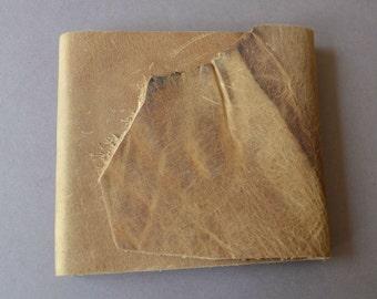 Leather Pocket Notebook Thin Line Planner Art Sketchbook (505)