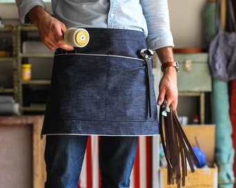 Selvedge Denim Half Apron // Made in U.S.A.