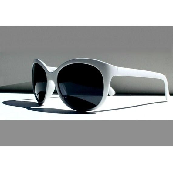 Vintage Cat Eye Sunglasses, White Cateye Sunglasses, Cateyes Glasses, Retro Catseye Eyeglasses, Deadstock Glasses