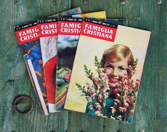 May 1961 - La Famiglia Cristiana magazine