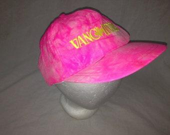 pink tie dye hat