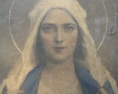 Shabby But Stunning Framed Print by C. Bosseron Chambers, Immaculate Heart of Mary