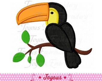 Instant Download Toucan Applique Machine Embroidery Design NO:1771