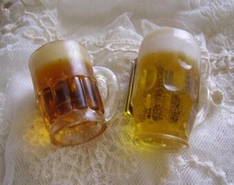 Vintage Beer Mug Kitchen Refrigerator Magnets