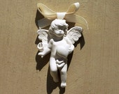Heart Angel scented with bow