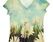 woman  PLUS SIZE flower all over print  top, t shirt and tank top(5-150)