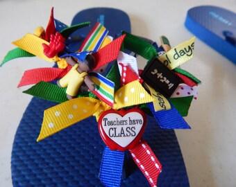 TEACHER-----Ladies flip flops