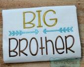 Big Brother Machine Embroidery Design