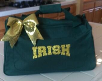 Custom Bling Cheer Bag