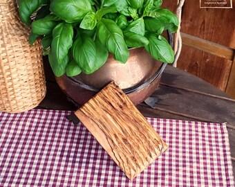 olive wood olivewood wooden soap holder dish bowl, rectangular