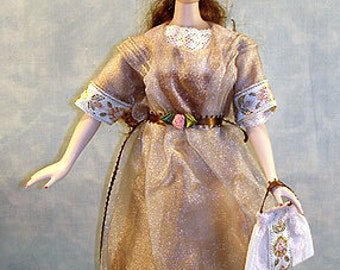 15-16 Inch Fashion Doll Clothes - Bridge to the Orient made by Jane Ellen to fit 15-16 inch fashion dolls