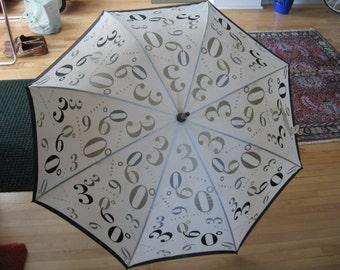 SALE 1980s Perry Ellis 360 Degree Umbrella
