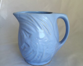 McCoy Blue Angelfish Pitcher