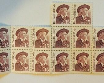 1988 Buffalo Bill Cody 15c Stamp Scott number US 2177