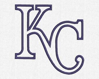 KC Applique Embroidery Design