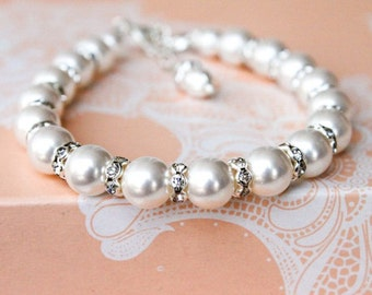 Jewelry Pearl Set, Bridesmaids gift