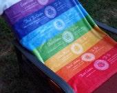 The 7 Chakra Balancing Mat! A Therapeutic Tool to Balance each Chakra
