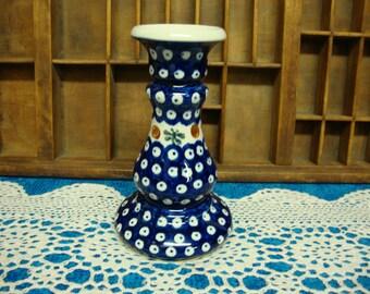 Polish Pottery Candleholder