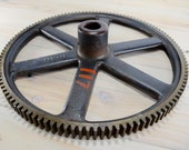 Cast Iron Wheel,Cast Gear, machine Gear, Steampunk, Large Quantity