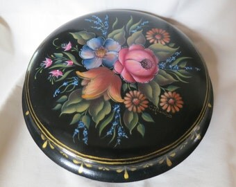 Hand Painted Wood Box