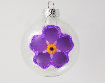 Armenian Ornament, Anmoruk Ornament, Armenian Genocide, Forget me Not, Armenian Christmas Ornament, Holiday Decor, Christmas Decor, Armenia