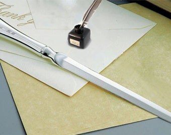 Personalized Elegant Lodve Note Silver Plated Letter Opener Engraved Free