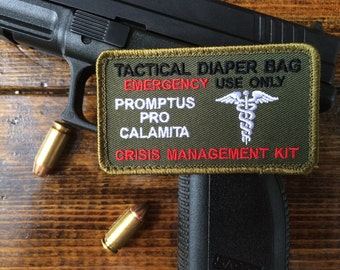 Tactical Diaper Bag Patch ~~Jungle Green~~~