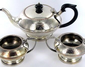 Silver Plated English Tea Set