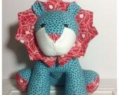 Handmade Cute Lion, Soft Toy, Lion Plush, Stuffed Lion, Kids Toys, Nursery Decor