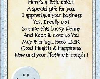 Thank you for business Lucky Penny
