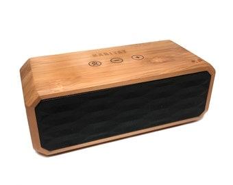 Pandox Bluetooth Speaker - Bamboo Speaker - Gift for Him - Wood Speaker - Groomsmen - Wedding Party Gift - Gift for Her - Unique Gift