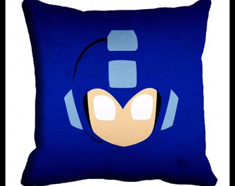 PAIR or MIX MATCH from listing - Megaman Digital print cushion cover