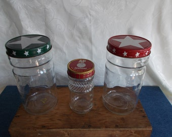Vintage Maxwell House And A&P Coffee Jars //Lot