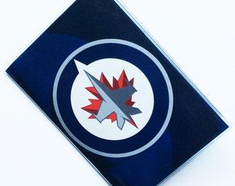 Passport Cover Case Holder -- Winnipeg Jets