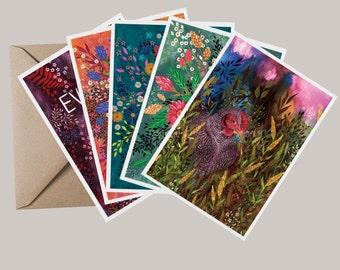 Garden Party Greeting Card Set