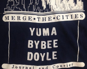 Merge the Cities / Yuma / Bybee / Doyle / Arizona T Shirt